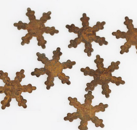 SMALL SNOWFLAKES  RUSTY